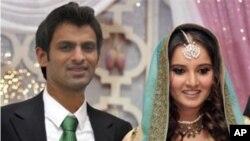 ثانیہ اور شعیب کی بھارتی ہائی کمشنر سے ملاقات
