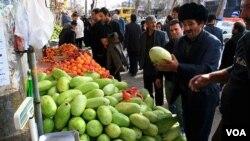 Iranian Azerbaijan Bazaar