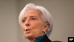 La directrice générale du FMI, Christine Lagarde (AP)