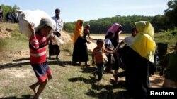 Sebagian pengungsi Rohingya di Bangladesh dilaporkan telah kembali ke Myanmar (foto: dok).