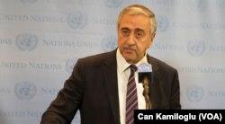 Kıbrıs Türk Cumhurbaşkanı Mustafa Akıncı