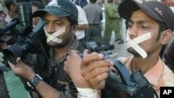 پاکستان کی صحافتی تنظیمیں اور سول سوسائٹی صحافتی قدغنوں پر سراپا احتجاج ہیں۔