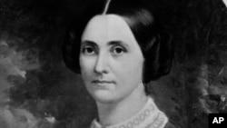 미국 적십자사, American Red Cross를 설립한 클라라 바튼.