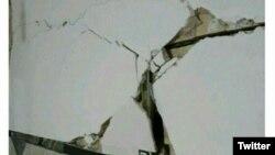 伊朗西部星期天发生强震