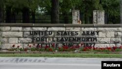 Căn cứ quân sự Fort Leavenworth ở Kansas, Hoa Kỳ.