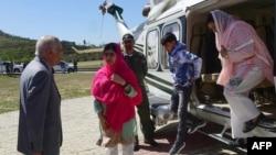 諾貝爾和平獎得主馬拉拉尤素福扎伊訪問巴基斯坦。