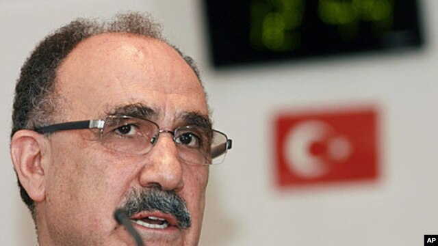 Turkey's Deputy Prime Minister for Cyprus affairs Besir Atalay (file photo)