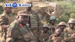 African Union mission in Somaliasays al-Shabab rebels are on the run.