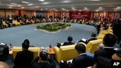 2013年7月2日﹐各國外長在汶萊出席第20屆東盟地區論壇會議。