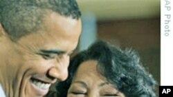 奥巴马在白宫款待索托马约尔