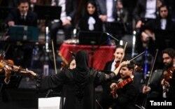نزهت امیری، رهبر ارکستر نغمه باران