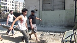 "A scene from ""Return To Homs"" directed by Talal Derki. (Courtesy Proaction Films)"