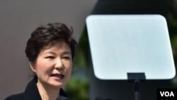 ປະທານາທິບໍດີ ເກົາຫລີໃຕ້ ທ່ານນາງ Park Geun-hye