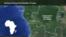 Map of Democratic Republic of Congo, DRC - highlighting Kinshasa