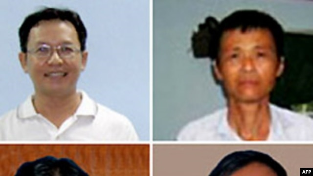 Ông Phạm Minh Hoàng, Mục sư Dương Kim Khải, Bà Trần Thị Thúy, Ông Nguyễn Thành Tâm