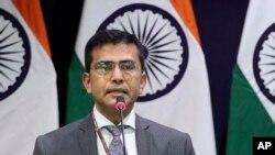 Người phát ngôn Bộ Ngoại giao Ấn Độ Raveesh Kumar.
