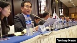 한국 국토교통부는 4일 몽골 울란바토르에서 열린 제43차 국제철도협력기구 장관회의에서 한국의 가입안이 의제로 상정됐지만 북한이 강력하게 반대 입장을 고수해 통과되지 못했다고 밝혔다.