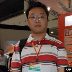 大陆采购商彭先生对台商高科技产品最感兴趣