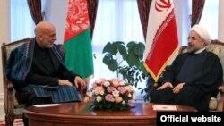 رؤسای جمهور افغانستان و ایران