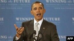 Predsednik Obama govori u srednjoj školi Kenmor, u Arlingtonu, Virdžinija, 14. mart 2011.