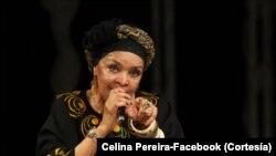 Celina Pereira canta para Boa Vista