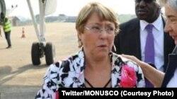 """La Haut-Commissaire de l'ONU aux droits de l'Homme, Michelle Bachelet, a exprimé mardi son """"horreur"""" face aux violences dans le nord-ouest syrien et réclamé la mise en place de """"couloirs humanitaires""""."""