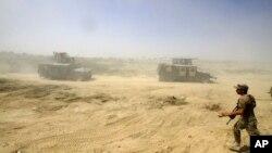 """Наступ іракських урядових сил на Фаллуджу, яка у 2014-му році була захоплена бойовиками """"Ісламської держави"""""""