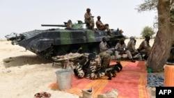 Soldados do Chade combatem guerrilheiros do Boko Haram (Foto de Arquivo)