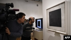 «Черный квадрат» Казимира Малевича в Третьяковской галерее
