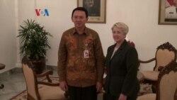 Walikota Houston Temui Gubernur Jakarta