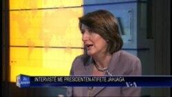 Presidentja e Kosovës Atifete Jahjaga flet për gjendjen në vend