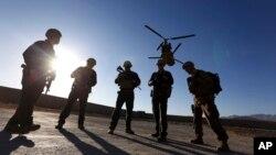 AQSh askarlari Logar viloyatida. Afg'oniston, 30-noyabr, 2017.