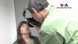 Fransız Sanatçıdan Özel Protez Gözler