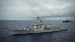 美艦不顧中國抗議,今年第七度穿越台海