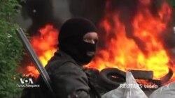"""Развернута """"широкомасштабная"""" операция против сепаратистов в Славянске"""