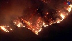 Fallece un bombero en la lucha contra el fuego de California