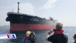 Iran bị nghi đánh bom tàu dầu ở UAE