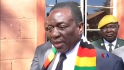2018-08-03 美國之音視頻新聞: 姆南加古瓦稱當選津巴布韋總統