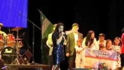 Yulduz Usmonova Nyu-Yorkda konsert berdi/Yulduz Usmanova performs in NYC