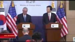 Ngoại trưởng Tillerson: 'Không thể tiếp tục kiên nhẫn với Bắc Triều Tiên'