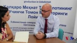 ILO-Uzbekistan: Special interview from Tashkent