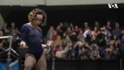 Історія американської гімнастки Кейтлін Охаші, чий виступ підкорив інтернет. Відео