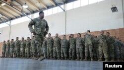 Служащие Национальной гвардии США