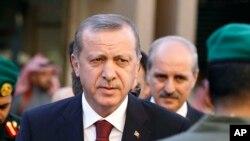 Le président turc Recep Tayyip Erdogan a eu des mots durs pour Barack Obama (AP)