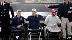 Para veteran perang AS yang menjadi cacat setelah bertempur. (Foto: Dok)