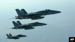 Serangan udara Suriah