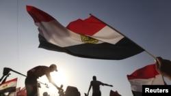 Сторонники кандидата от «Братьев-мусульман» Мохаммеда Мурси