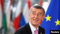 资料照:捷克总理巴比什