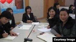 탈북여성들을 위한 비폭력 대화 교육
