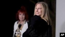 FILE - Barbra Streisand attends an event in Malibu, Calif., June 2, 2018.